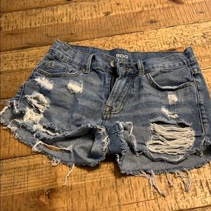 Bdg tipped jean shorts
